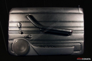 Акустические подиумы ВАЗ 2101-2107, Нива (с карманом) (пластик)