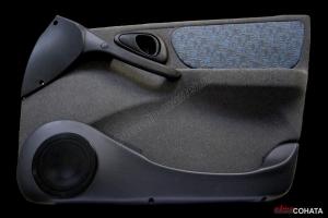 Акустические подиумы Chevrolet Niva (пластик)